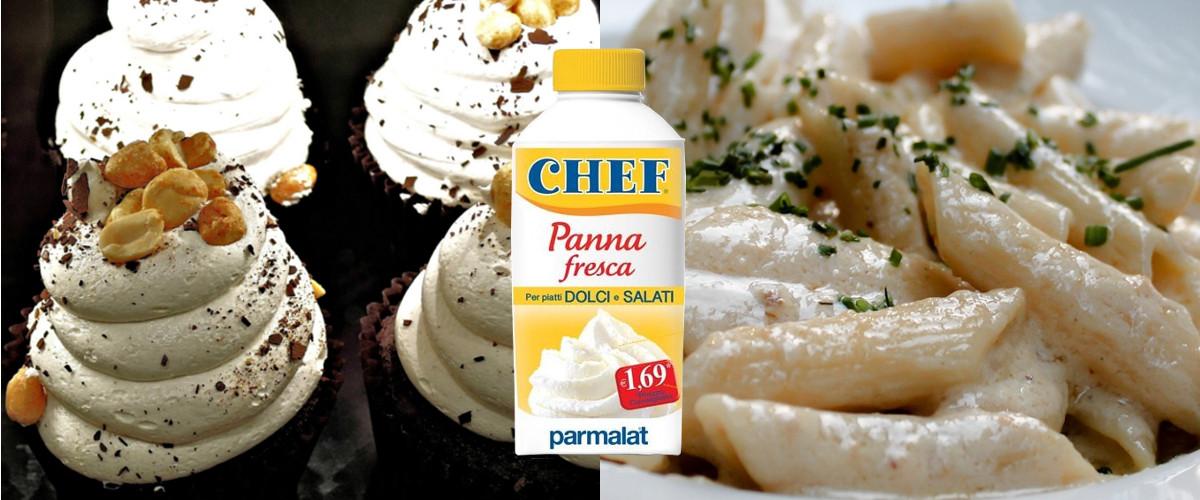 Restyling per la Panna Chef