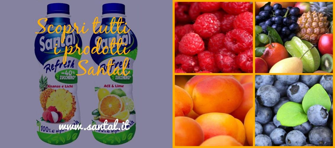 Santal, tutto il gusto della frutta