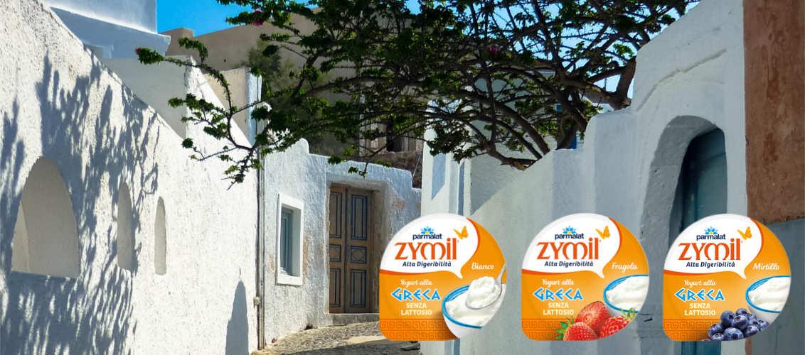 Yogurt Zymil alla Greca Parmalat