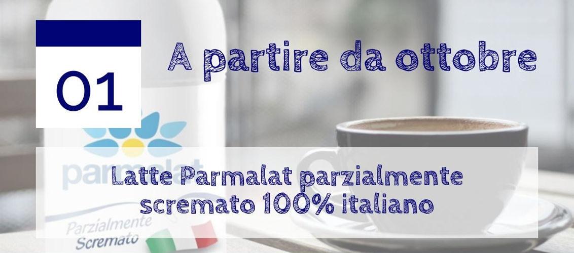Latte Parmalat Parzialmente Scremato 100% Italiano