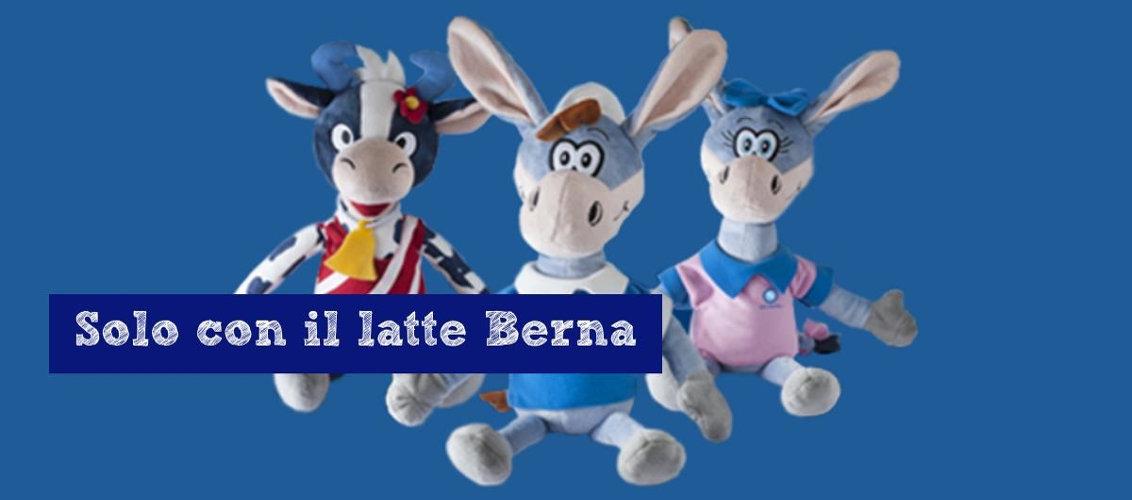 mascotte del Calcio Napoli, miniraccolta Latte Berna