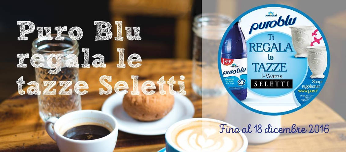 minicollection del latte Puro Blu Parmalat
