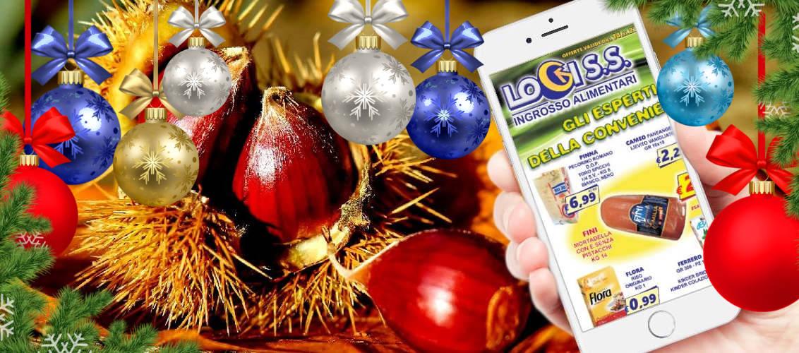 volantino LogiS.S. novembre 2016 offerte prodotti alimentari e non