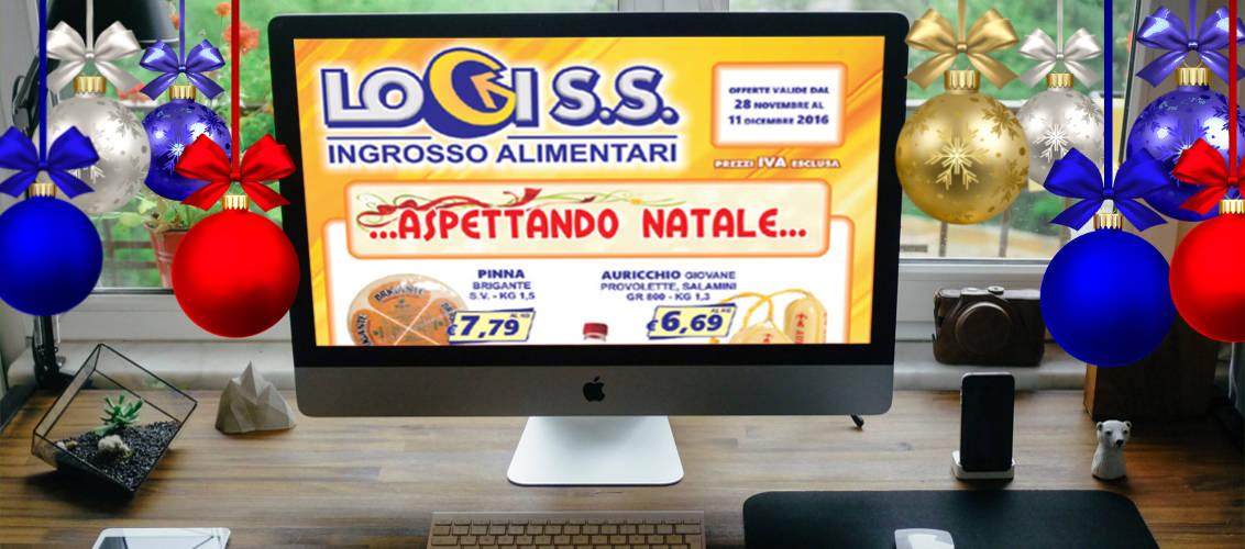 Volantino di dicembre 2016 LogiS.S. concessionario Parmalat