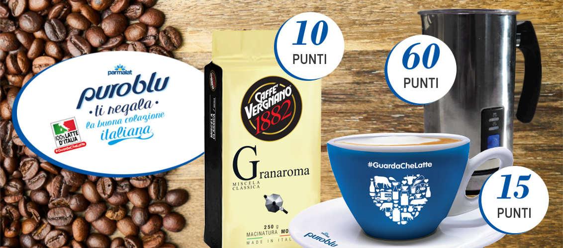 Risultati immagini per Parmalat PuroBlu ti regala la Buona Colazione Italiana