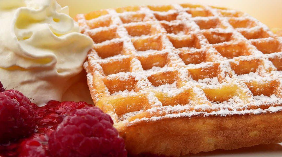 Fai una pausa con i waffle!
